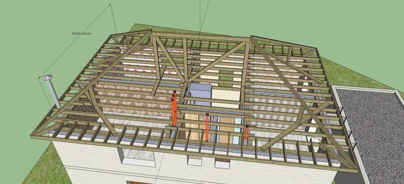 Крыша частного дома | строительство крыши своими руками
