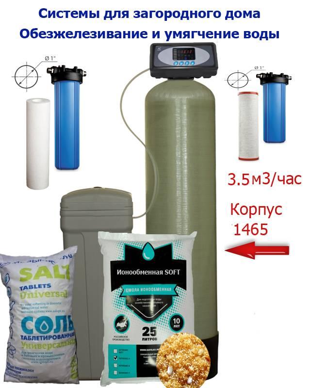 Варианты смягчения жесткой воды из водопровода, скважины или колодца