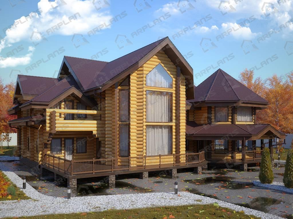 Строительство домов из бревна: как построить недорогой, качественный и экологичный дом