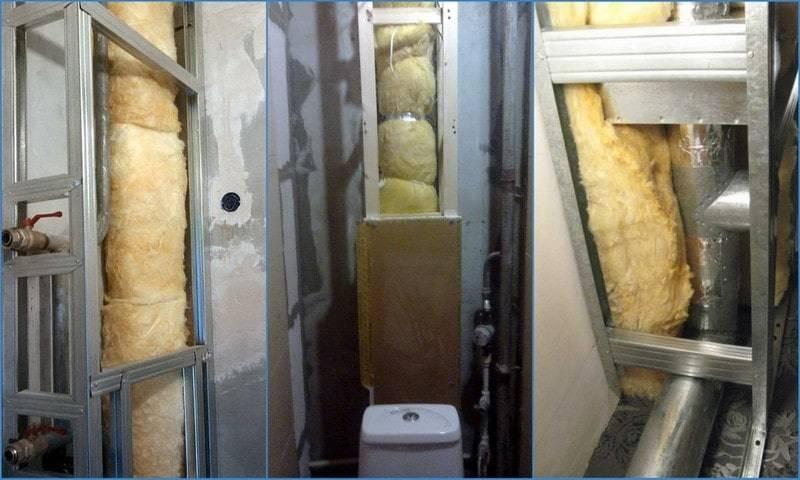 Способы шумоизоляции для снижения гула в канализационном стояке