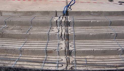Прогрев бетона проводом - пошаговое руководство, схема програва