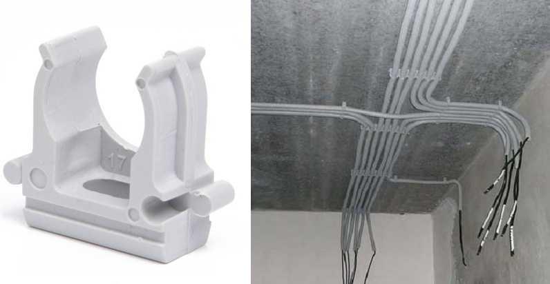 Как выполнить крепление провода к стене - способы на все случаи жизни