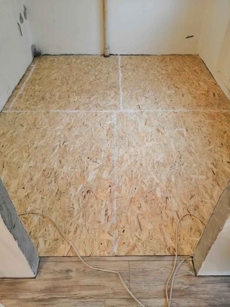 Укладка osb плит на деревянный и бетонный пол – как стелить правильно