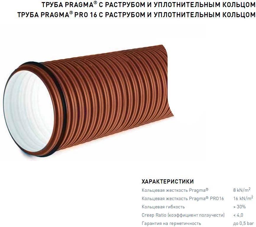 Какие трубы используются для напорной канализации