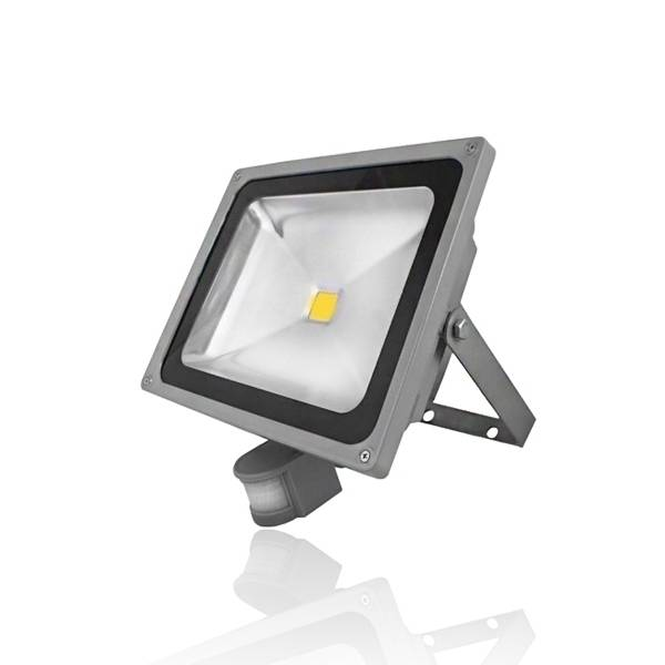 Светодиодный прожектор с датчиком движения и освещенности: конструкция и электрическая схема подключения
