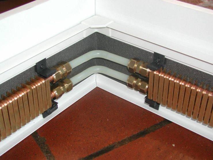 Плинтусное отопление — как функционирует система в доме
