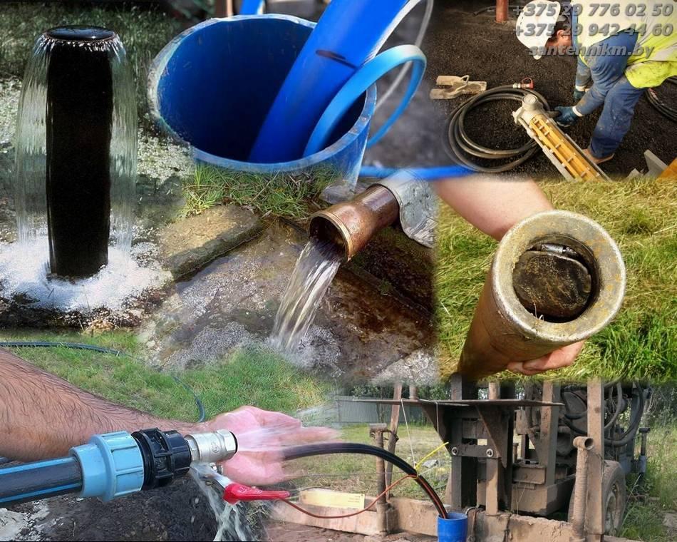 Очистка скважин: процесс чистки, промывка от песка и ила, как почистить своими руками, как очистить воду от извести
