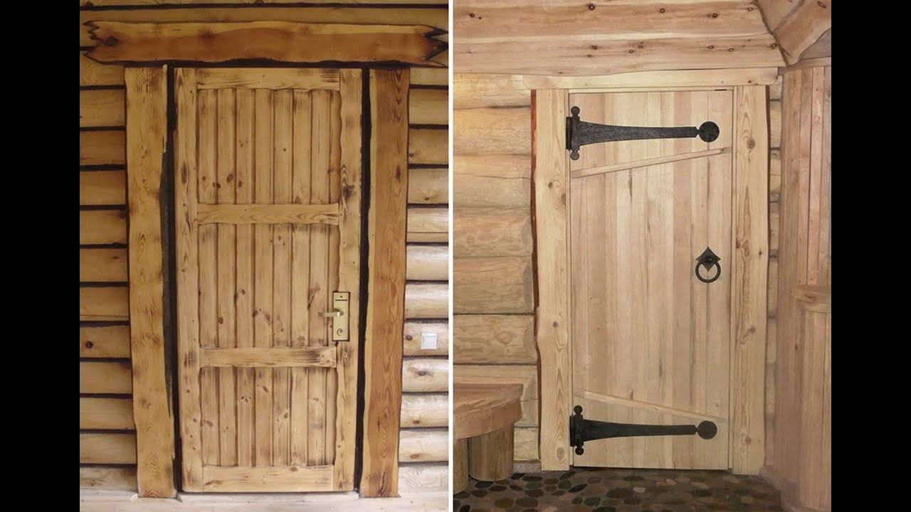 Как сделать дверь в баню своими руками пошагово