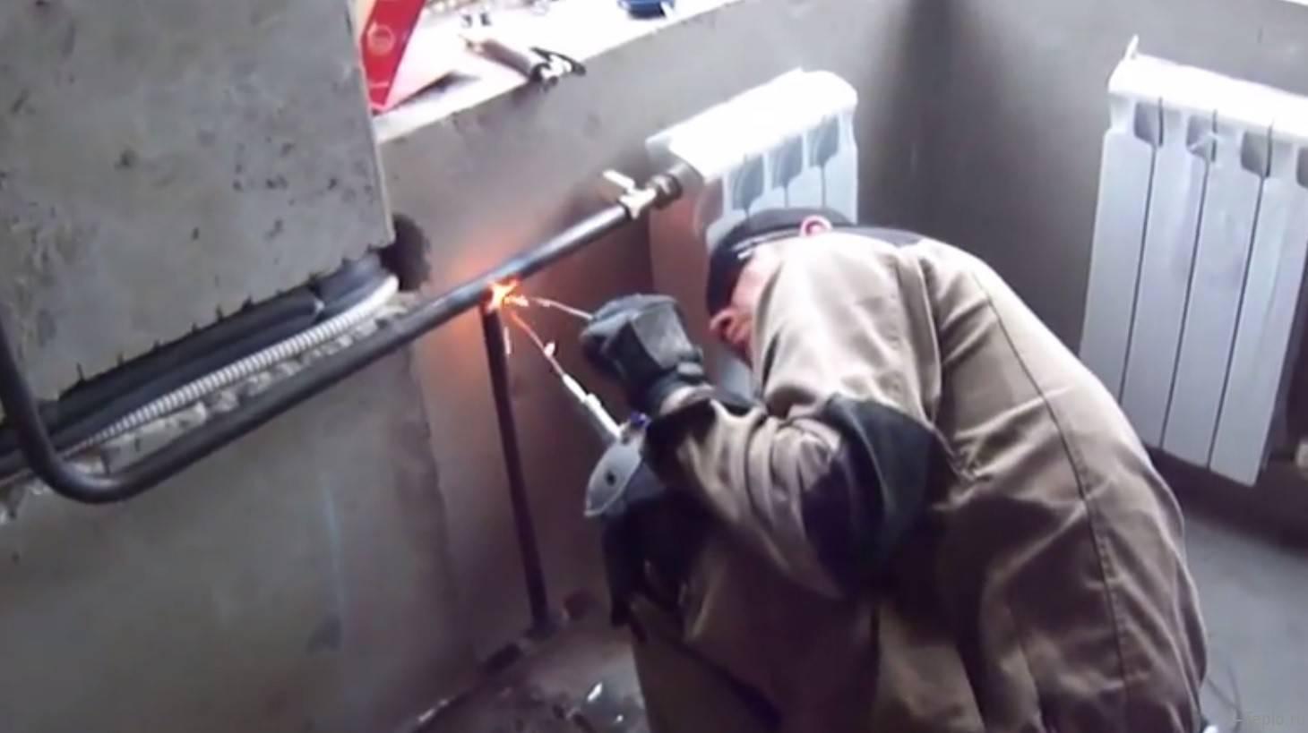Замена труб отопления в квартире: монтаж отопительной системы, выбор материала