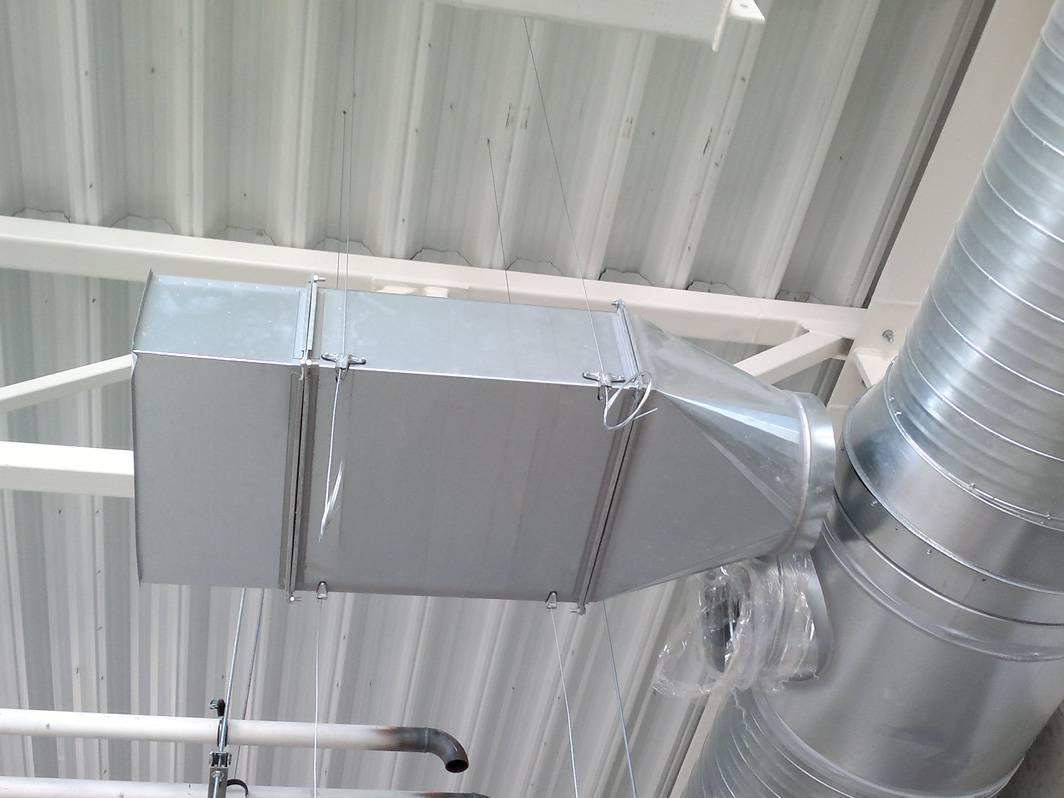 Как выполнить крепление воздуховодов к стене самостоятельно