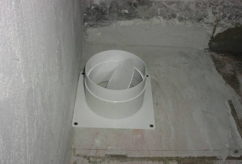 Обратный клапан на вентиляцию: как установить вентиляцию с обратным клапаном на вытяжку