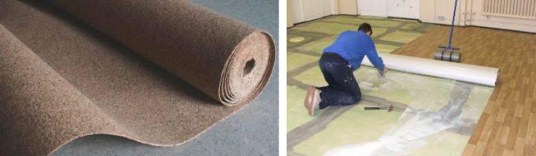Подложка под линолеум на деревянный пол: для чего нужна и какую основу лучше выбрать, что подложить при укладке линолеума