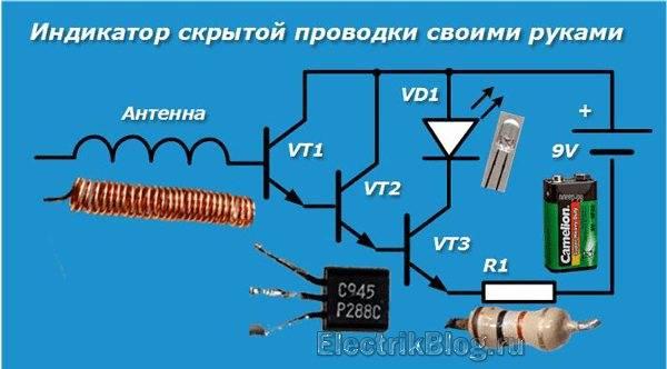 Прибор для обнаружения скрытой проводки: виды, использование
