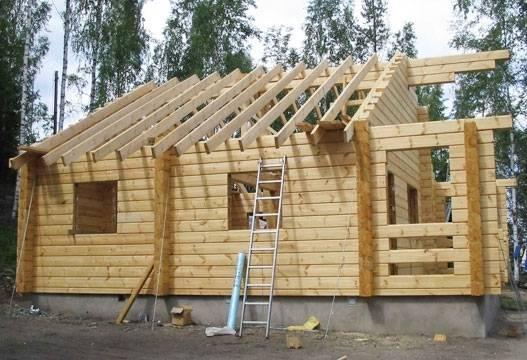 Дом из бруса своими руками: пошаговая инструкция