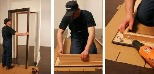 Как сделать дверь своими руками
