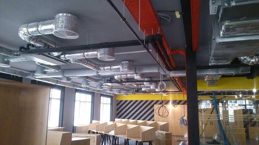 Вентиляция торговых центров: особенности функционирования оборудования и монтажа