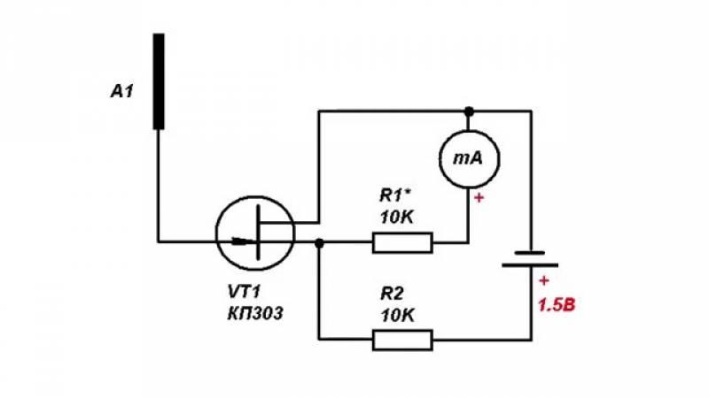 Детектор скрытой проводки своими руками | kavmaster