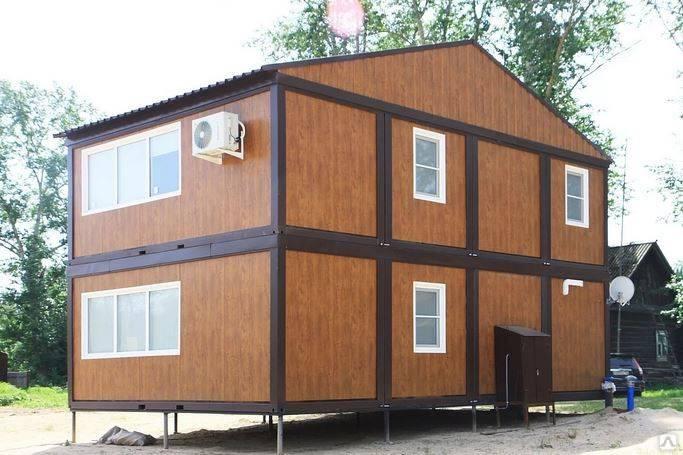 Модульные дома, специфика и особенности - фото примеров