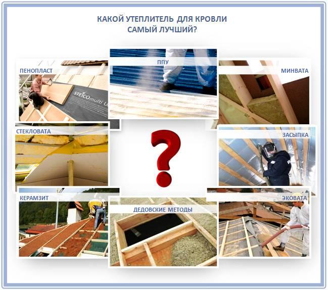 Утепление крыши изнутри: пошаговая инструкция - строительство и ремонт