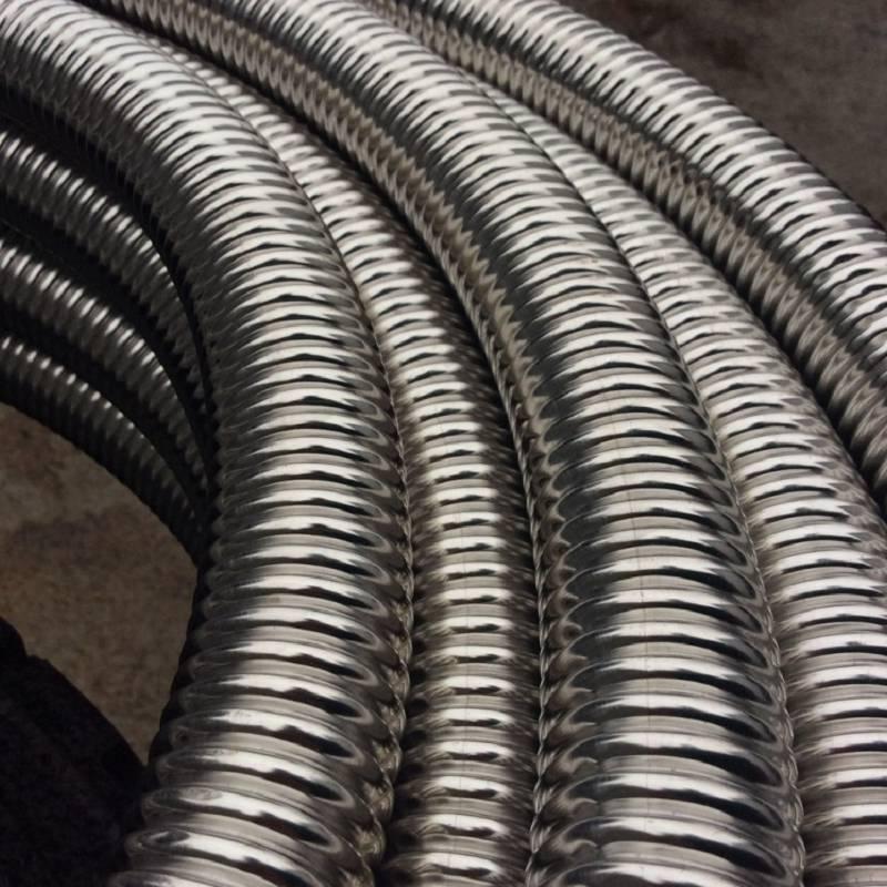 Гофрированные трубы из нержавеющей стали — отличный выбор для отопления