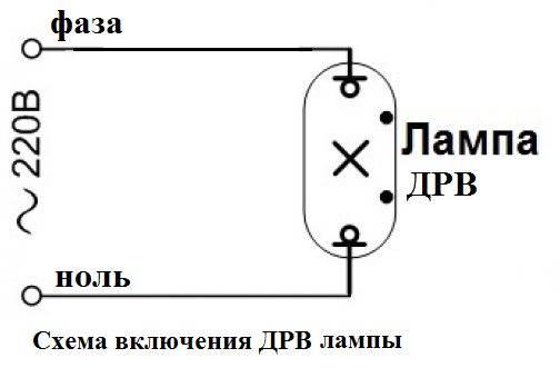 Лампы дрл: устройство, характеристики, правила выбора