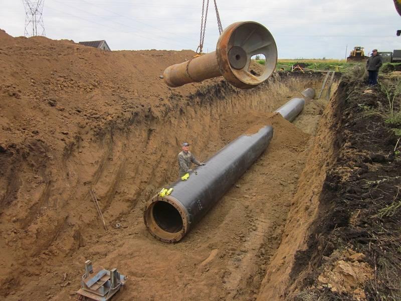 Прокладка газопровода в футляре через стену: особенности ввода в дом газовой трубы