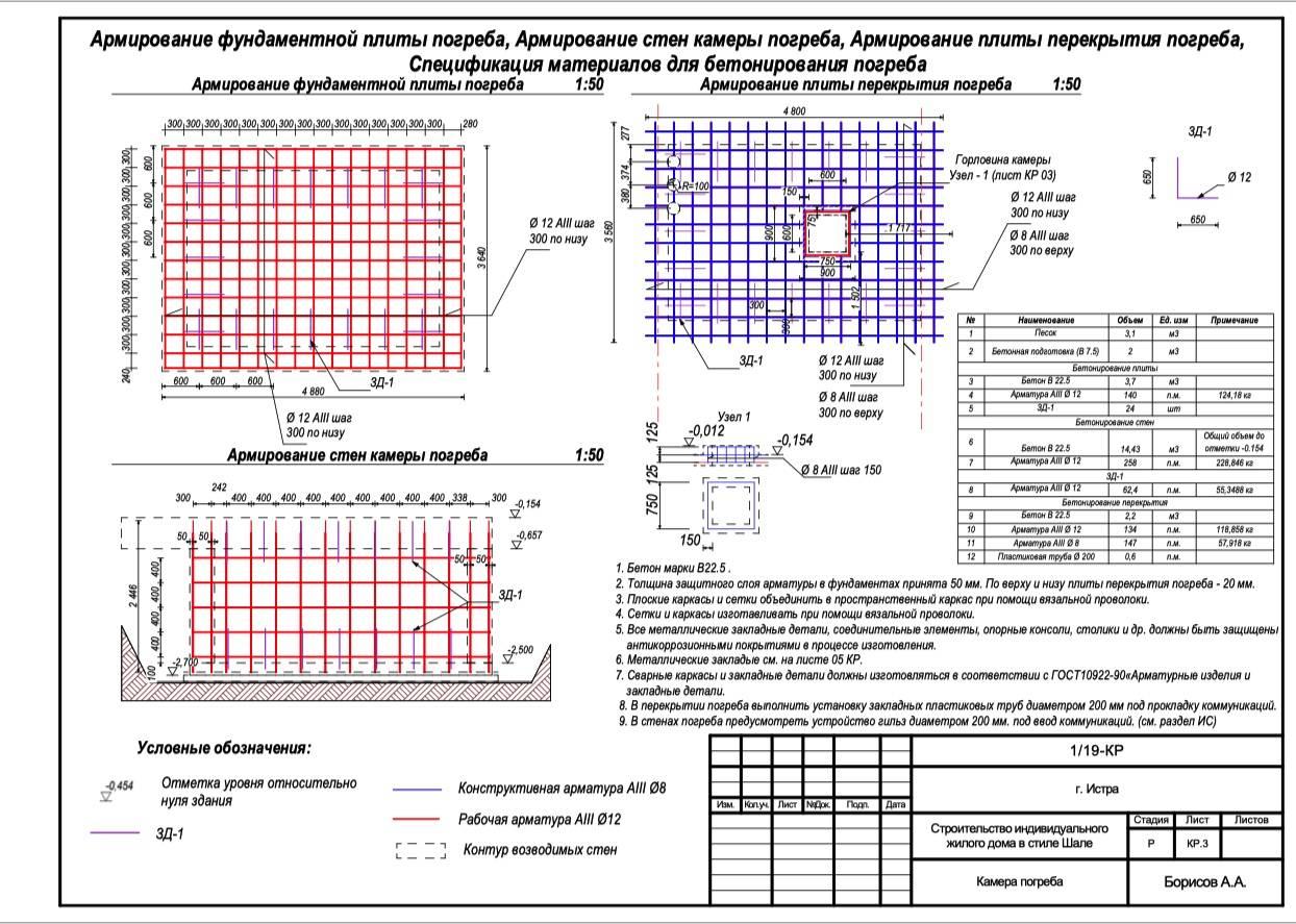 Армирование монолитной плиты фундамента, схема, расчет, чертежи, как произвести, фото
