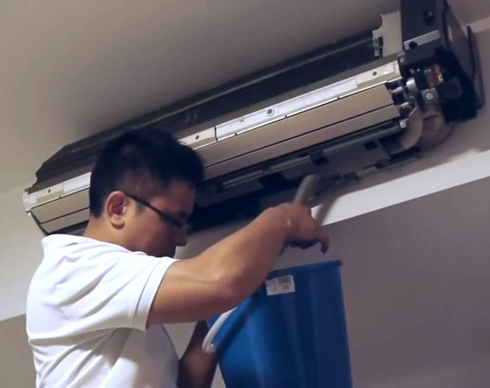 Почему течет вода из кондиционера: частые причины | гк промхолод