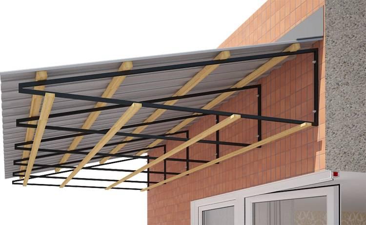 Особенности ремонта крыши балкона. советы мастеров - сделай сам - медиаплатформа миртесен