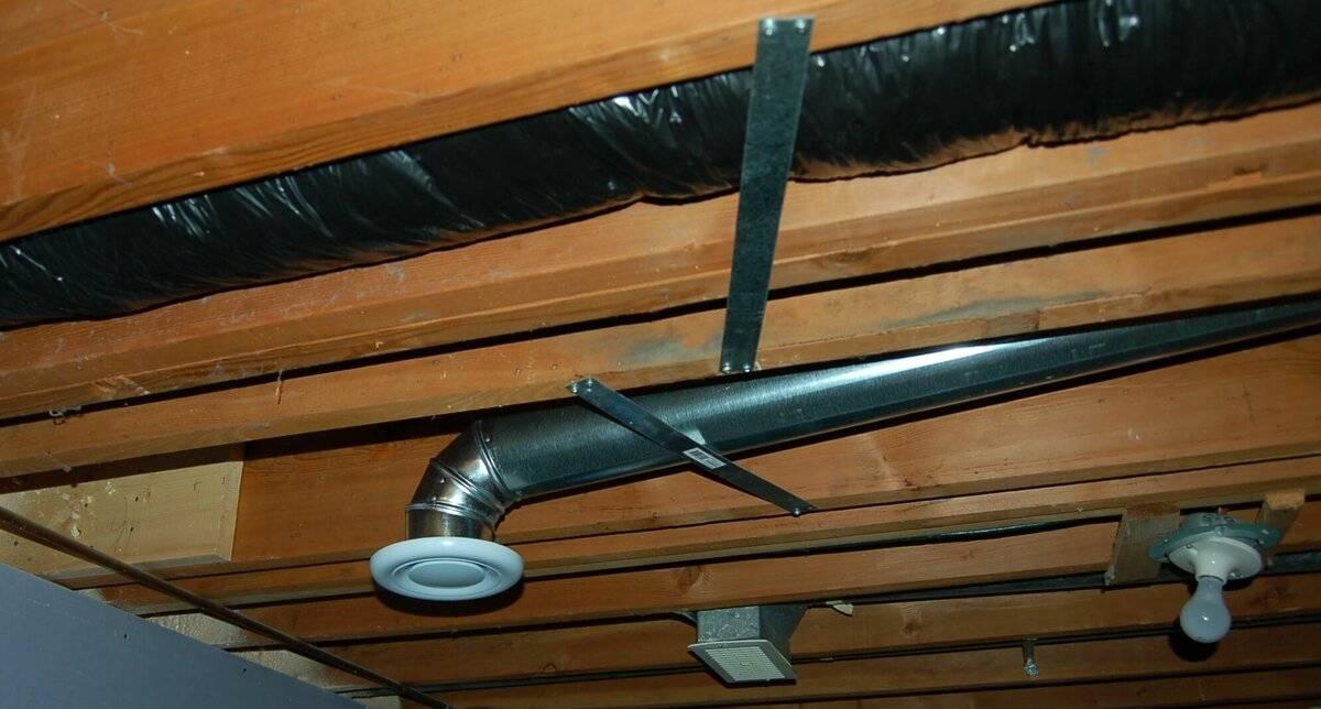 Вентиляция пола, подпольного пространства в деревянном доме