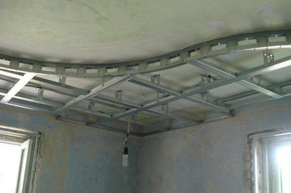 Подвесной потолок из гипсокартона своими руками: делаем пошагово