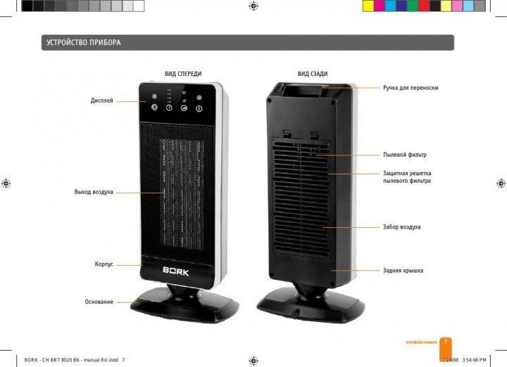 Чем хороши электрические обогреватели bork (борк), их виды и особенности