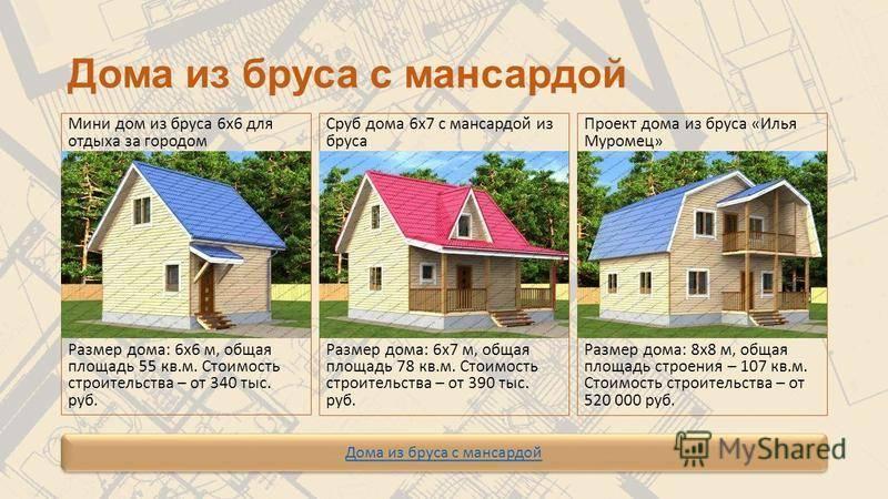 Что лучше: каркасный или брусовый дом?