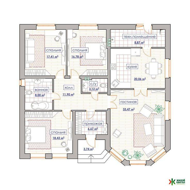 Красивые дома: проекты, материалы, фото примеры интересных идей