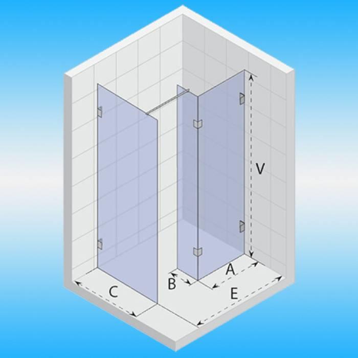 Угловые душевые кабины (51 фото): 80х80 и 90х90, 100х100 см и другие размеры. кабины с ванной, крышей и другие варианты