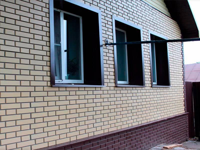 Фасадные панели под кирпич – новая одежда вашего дома