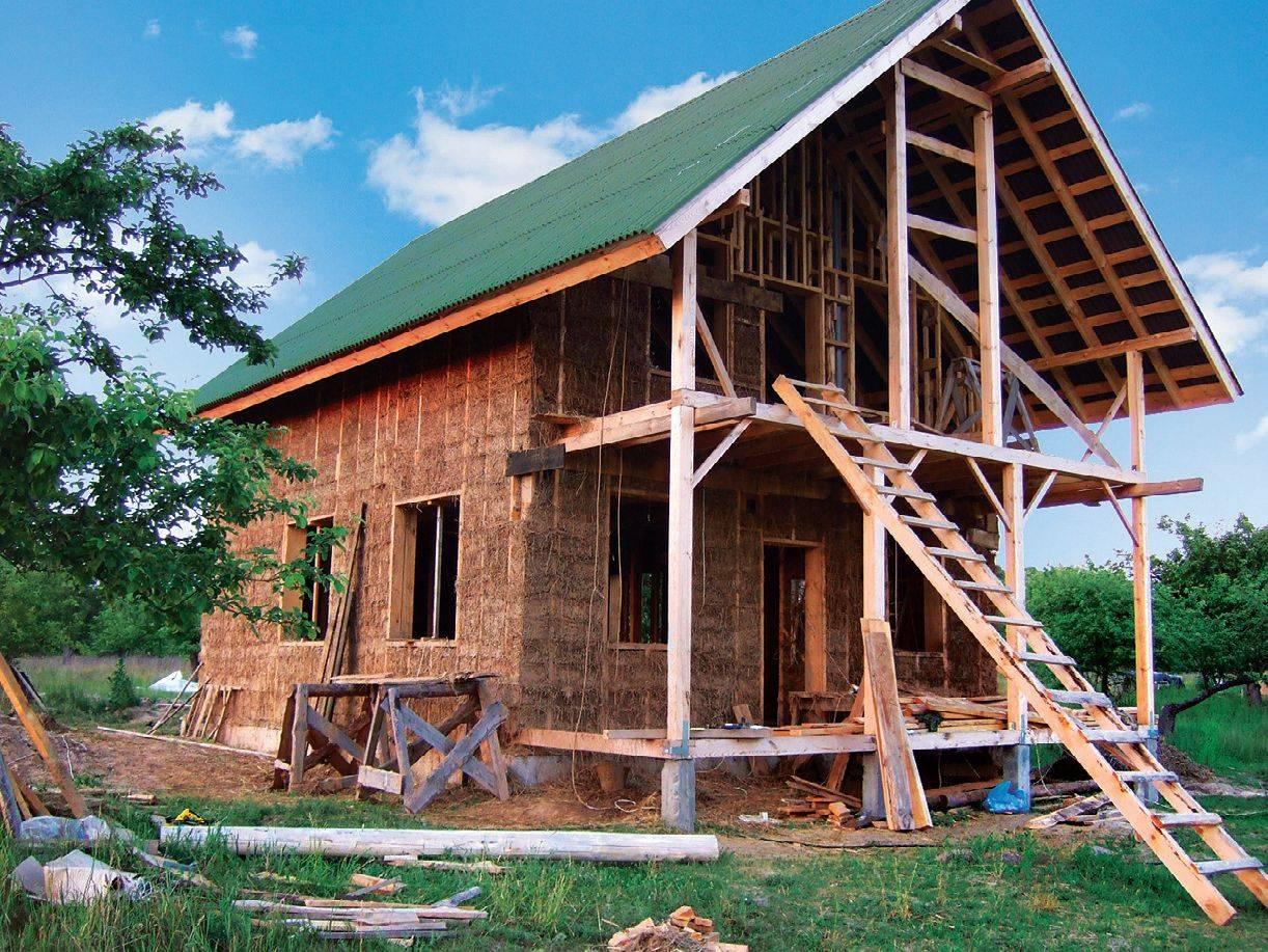 Технология строительства дома из самана своими руками