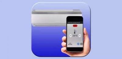 Дистанционное управление кондиционером с помощью приложений для телефона