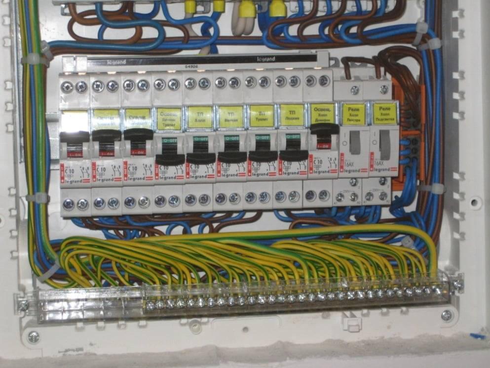 Сборка электрощита, монтаж, подключение, схема сборки, правила
