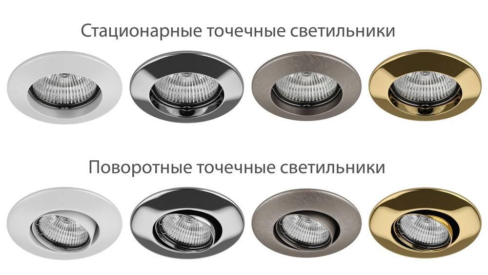 Точечные светодиодные светильники: информация по выбору и расположению