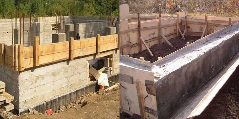 Когда снимать опалубку после заливки бетона?