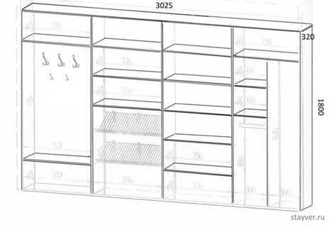 Варианты наполнения шкафов купе для прихожей, советы по выбору