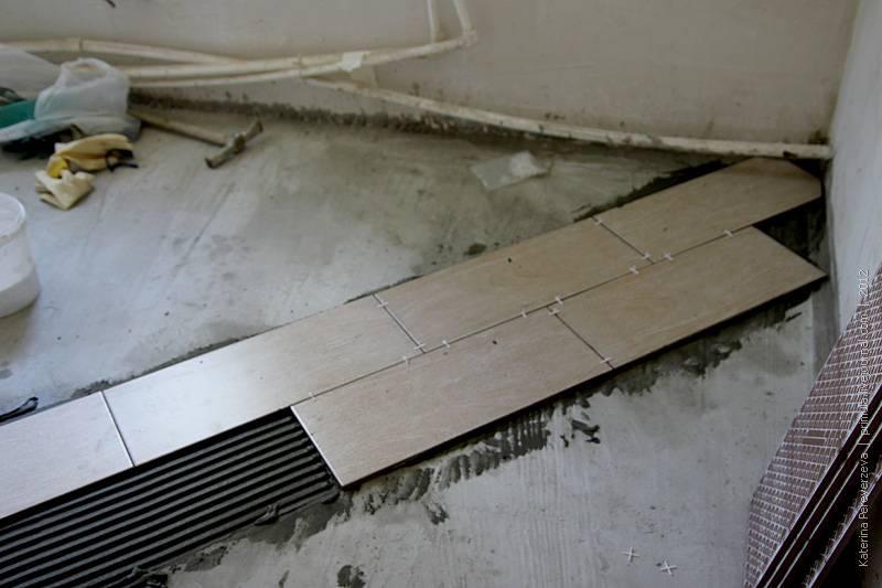 Технология укладки плитки на пол своими руками