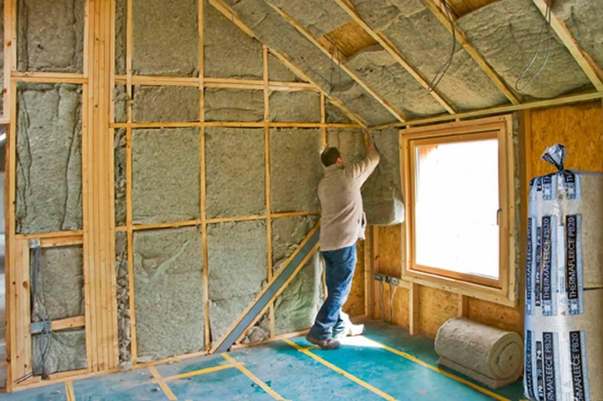 Утеплитель для стен внутри дома на даче, какой выбрать?   советы специалистов