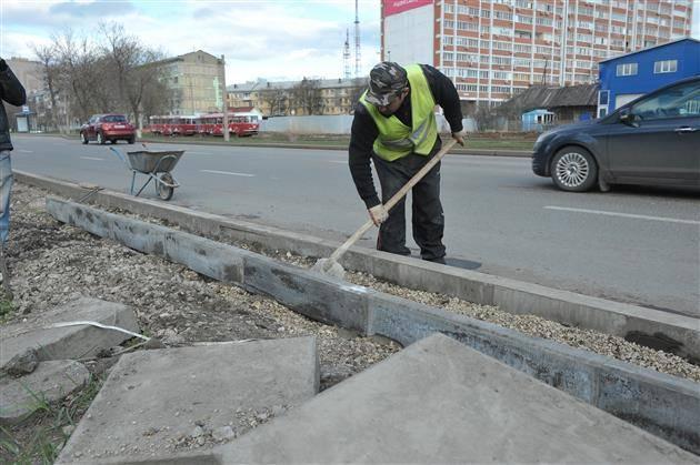 Установка бордюров своими руками :: syl.ru