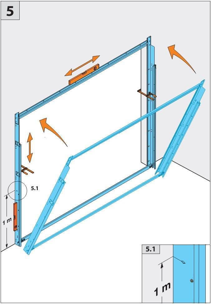 Металлические ворота для гаража: как сварить из профильной трубы, как покрасить и каким цветом, изготовление гаражных распашных железных ворот, чертежи