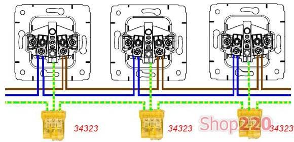 Розетки для наружной проводки с заземлением и без: установка своими руками