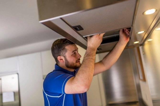 Ремонт кухонных вытяжек: не работает мотор и вентилятор, как разобрать устройство, замена кнопок управления