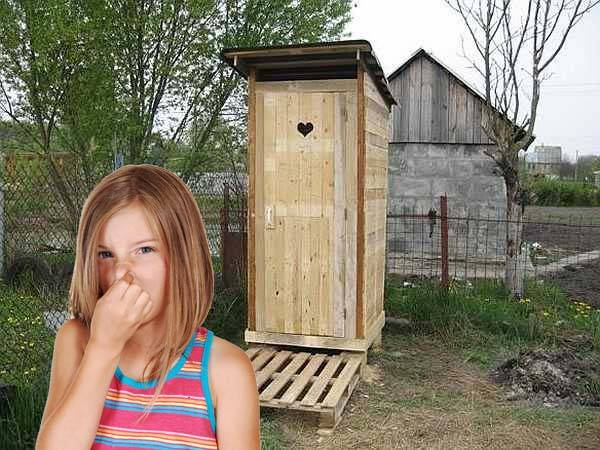 Как убрать запах из дачного туалета: как устранить народными средствами + удалить специальными составами