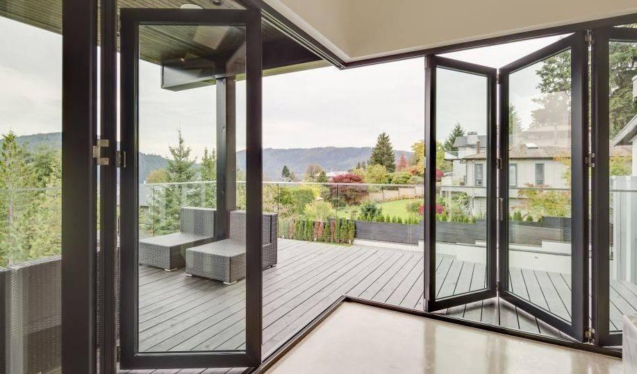 Раздвижные окна для террасы — удобное конструктивное решение